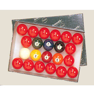 2 1/8ÃÃ Belgian Snooker Ball Set 869 (TE)