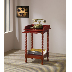 Cherry Finish Telephone Stand 900922CO