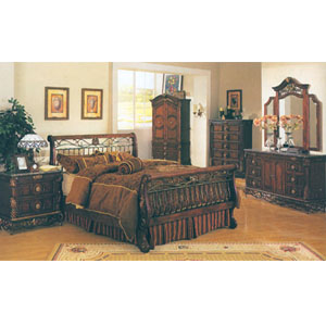 Bourdeax Marble Top Bedroom Set 9_ (A) - More Than A ...