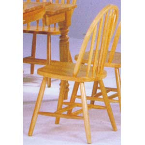 All Natural Arrow Back Chair 9214 Wd