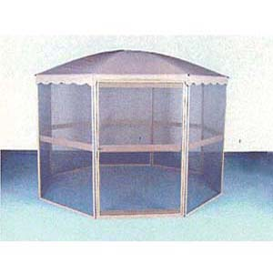 11Ã Aluminum Octagonal Screen House 93195 (LB)
