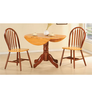 3-Pc Drop Leaf Dinette Set 9355/9314 (WD)