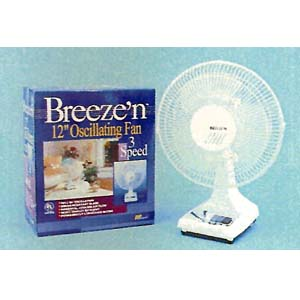 12 UL Oscillating Desk Fan 98140 (LB)