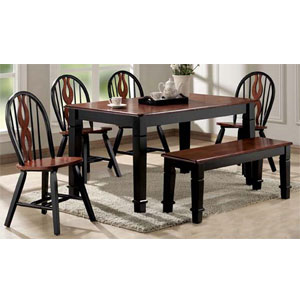 6-Pc Chicago Dining Set 9870/72/73 (A)