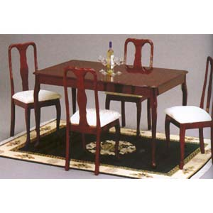 5-Pc Dining Set In Cherry 99682 (WD)