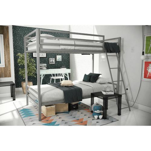 Novogratz Maxwell Metal Bunk Bed Amw1295 Hyfs 450 Lbs Weight Capacity