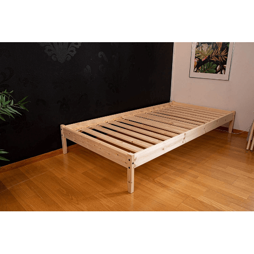 Solid Wood Unfinished Springfield Platform Bed (All Sizes)
