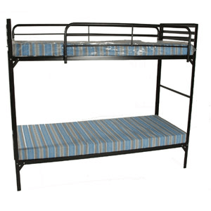 Heavy Duty 30 In Wide Insutional Bunk Bed W Mattress Az Weight Capacity 375 Per