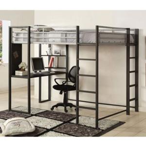 Sherman Full Size Workstation Loft Bed Cm Bk1098fiem More Than A