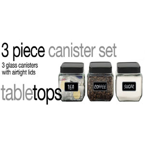 3-Piece Canister Set CS10322(HDS)