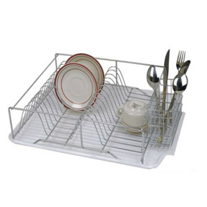 3 Pcs Chrome Dish Drain Rack DD00089(HDS)
