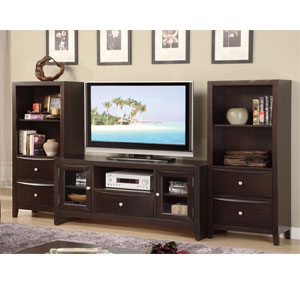 Dark Brown Tv Console F4519 Px