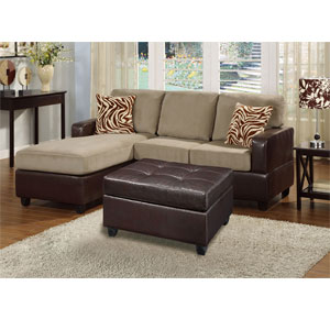 3-Pc Sectional Sofa - Pebble F7669 (PX)