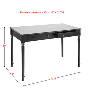 2-Drawer Writing Desk HO880_(SEIFS)
