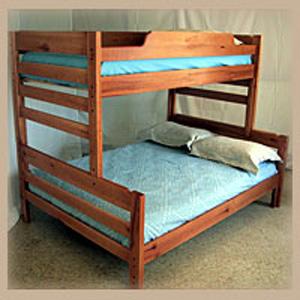 Aspen Twin Double Bunk Bed Ru1950 Ru