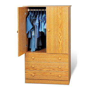 3 Drawer Wardrobe J_D-3060_ (PP)