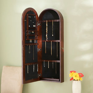 Arbor Wall Mount Jewelry Armoire JS792_(SEIFS)