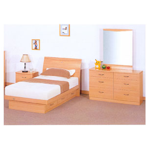 3 Drawer Chest Bed Set  MB5002T/Y2303/04/05 (E&S)