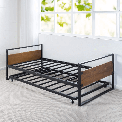 Twin High Rise Daybed And Trundle Frame Set Olb Irdbs 39