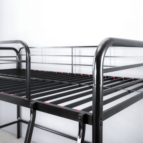 Zinus Easy Assembly Quick Lock Twin Loft Metal Bed Olb