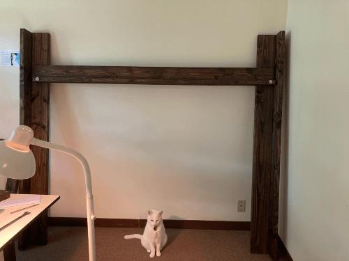 Open Concept Solid Wood Adult Loft Bed 1000 Lbs Wt. Capacity (USM)