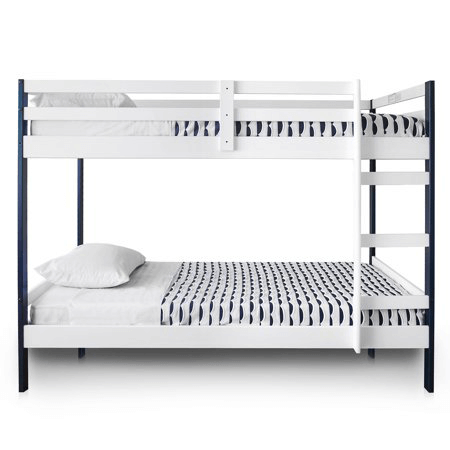 Solid Wood Letto Bunk Bed Multiple Colors 200 Lbs Weight Capacity
