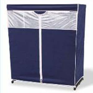 48 Inch Dustproof Portable Storage Wardrobe - More Than A Furniture ... 939cec21e