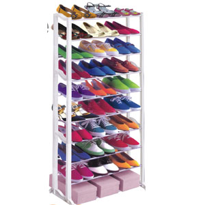30 Pair Shoe Rack 1459014DS(LKFS10)
