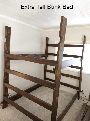 The Brute Solid Wood Adult Bunk Bed 1000 Lbs Wt. Capacity (USM)