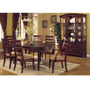 7 Pc Cherry Finish Dining Set CM3115 (IEM)
