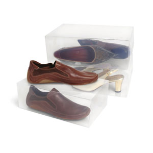 Clear Shoe Storage Boxes CSB_(SHSFS)