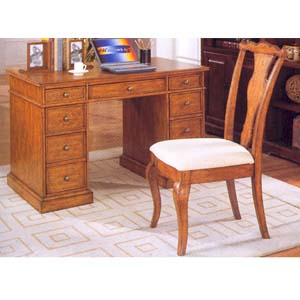 2-Pc Writing Desk And Chair F2228 (PX)