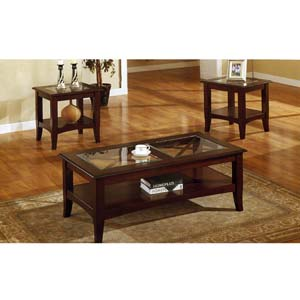 3 Pc Coffee and End Table Set F3075 (PX)