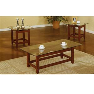 3 Pc Coffee & End Table Set F3083 (PX)