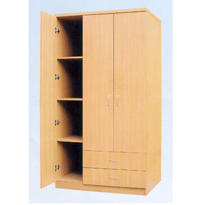 3 Door Wardrobe w/2 Drawers 7803 (ABC)