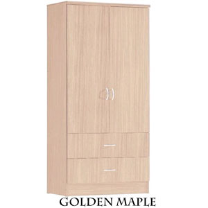 2-Door & 2-Drawer Wardrobe HI29 (HOFS65)