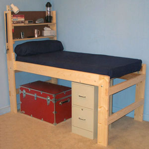 The Brute Solid Wood All Sizes Adult High Riser Bed 1000 Lbs Wt. Capacity