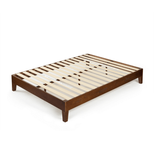 Wood Marissa 12 Inch Deluxe Wood Platform Bed OLB-PWPBBE(AZFS)