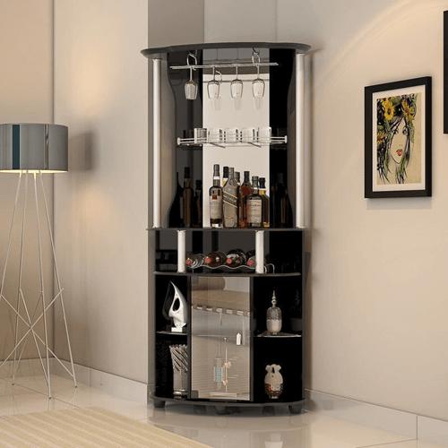 Corner Wine Bar With Storage Lder1429 Wffs