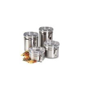 4 Piece Stainless Steel Canister Set CS10067(HDS)