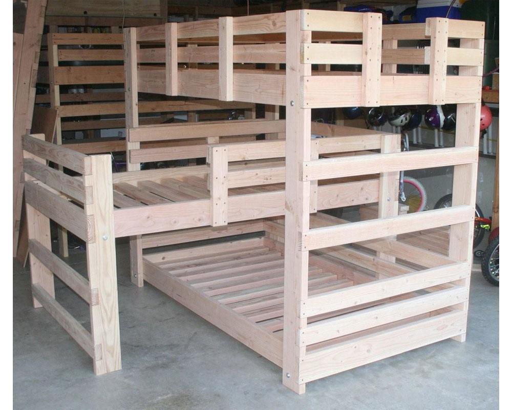 Quad L Shaped Bunk Bed Designs