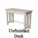 Unfinished Desk
