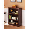 3-Shelf Bookcase Multiple Finishes 007137114(WFS65)