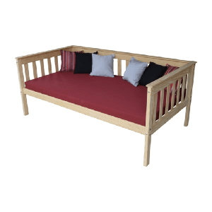 Solid Wood Sharo Mission Daybed (Multiple Sizes)(250 Lbs Weight Capacity)