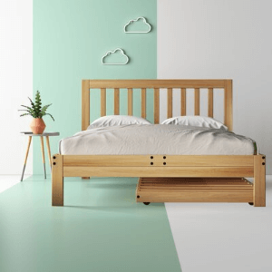 Solid Wood Corlyn Platform Bed (600 Lbs Weight Capacity)