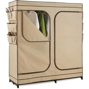 60 In. Storage Closet with Shoe Organizer-01272(WFS40)