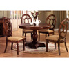 5-Pc Brown Wood Dining Set 100061/62 (CO)