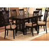 7-Pc Cappuccino Finish Dining Set 100181/82/83 (CO)