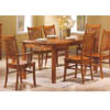 5 Pc Solid Hardwood Dinette Set 100621/100622 (CO)