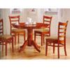 5 Pc Dinette Set In Antique Oak 100851/100852 (CO)